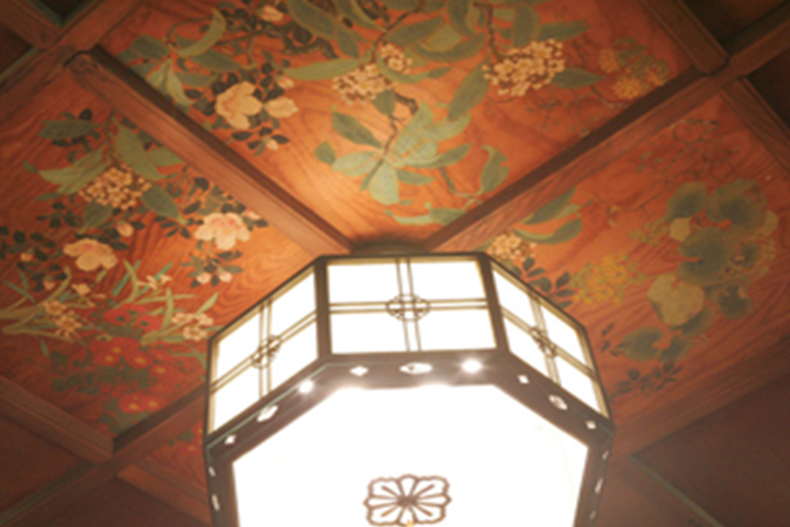 ceiling of the grand hall