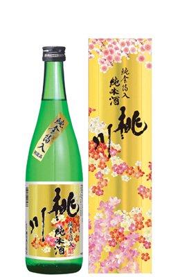 桃川 純金箔入純米酒 720ml