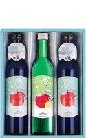 【オンラインショップ限定】雪りんご500ml×2本 + 雪りんごれもん500ml×1本入セット こちらの商品は6月20日(木)以降の発送となります。