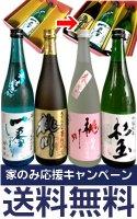 【家飲み応援キャンペーン】春いちばん!日本酒720ml 3本セット 送料無料!