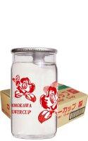【ケース販売】桃川 フラワーカップ180ml×30本