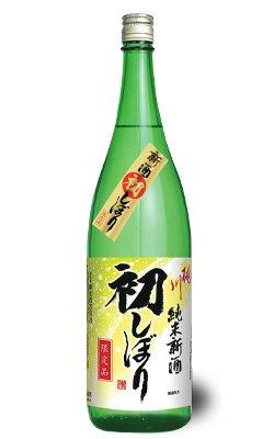 桃川純米新酒初しぼり 1800ml