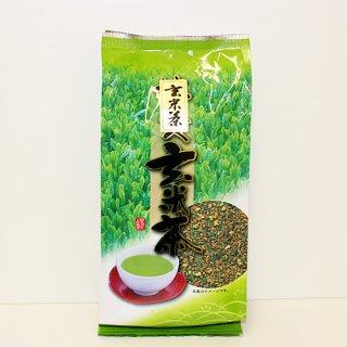 緑茶の風味と炒り米の香ばしい風味、味わいは薄めでさっぱりとした口あたり|玄米茶|上嶋製茶