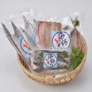 水揚げされた魚を新鮮なうちに干物に。新鮮で柔らかい魚本来の旨み|特選ひものBセット|キホクニヤ