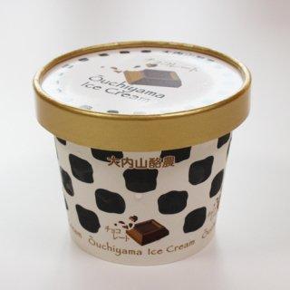 生クリームをたっぷり使った牧場アイス|大内山アイスクリーム チョコレート|君家冷菓