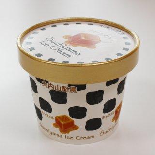 リッチで濃厚、生クリームをたっぷり使った牧場アイス|大内山アイスクリーム キャラメル|君家冷菓