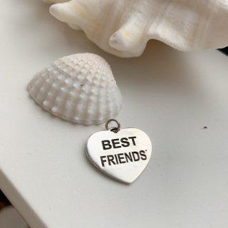 ドックタグ ハート型 BEST FRIEND ワンコ用迷子札