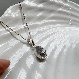 ハーキマーダイヤモンド 一点物 ネックレス-e