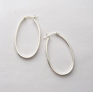 OVAL TUBE HOOP PIERCE