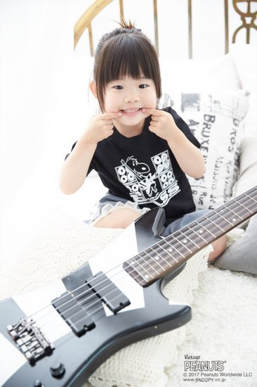 <img class='new_mark_img1' src='//img.shop-pro.jp/img/new/icons1.gif' style='border:none;display:inline;margin:0px;padding:0px;width:auto;' />NO_33 / BASS KIDS TEE (BLACK)