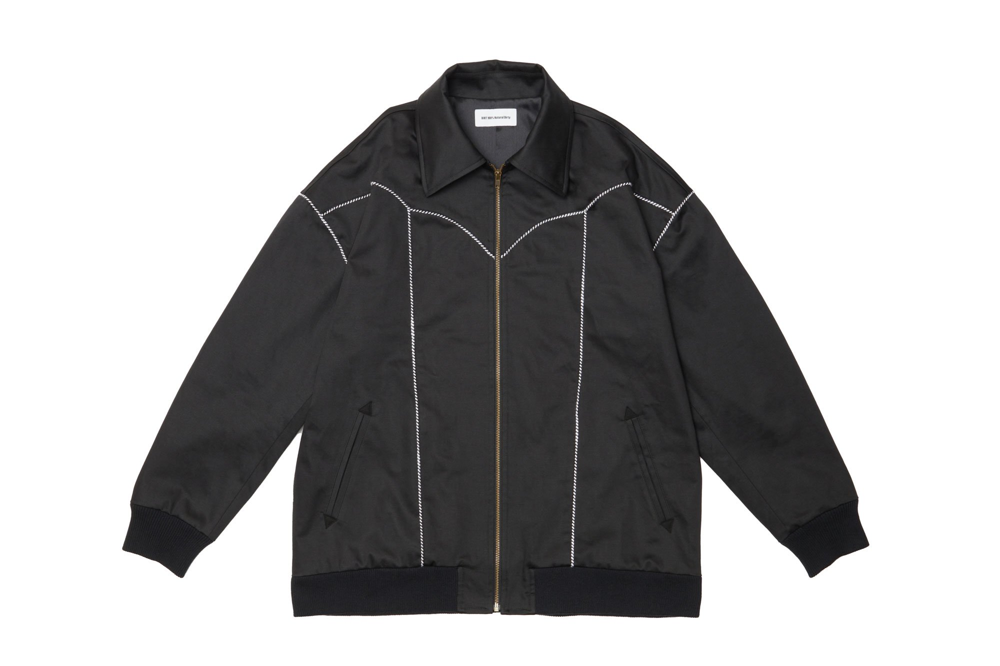 <img class='new_mark_img1' src='https://img.shop-pro.jp/img/new/icons14.gif' style='border:none;display:inline;margin:0px;padding:0px;width:auto;' />2020AW collection Western Blouson BK