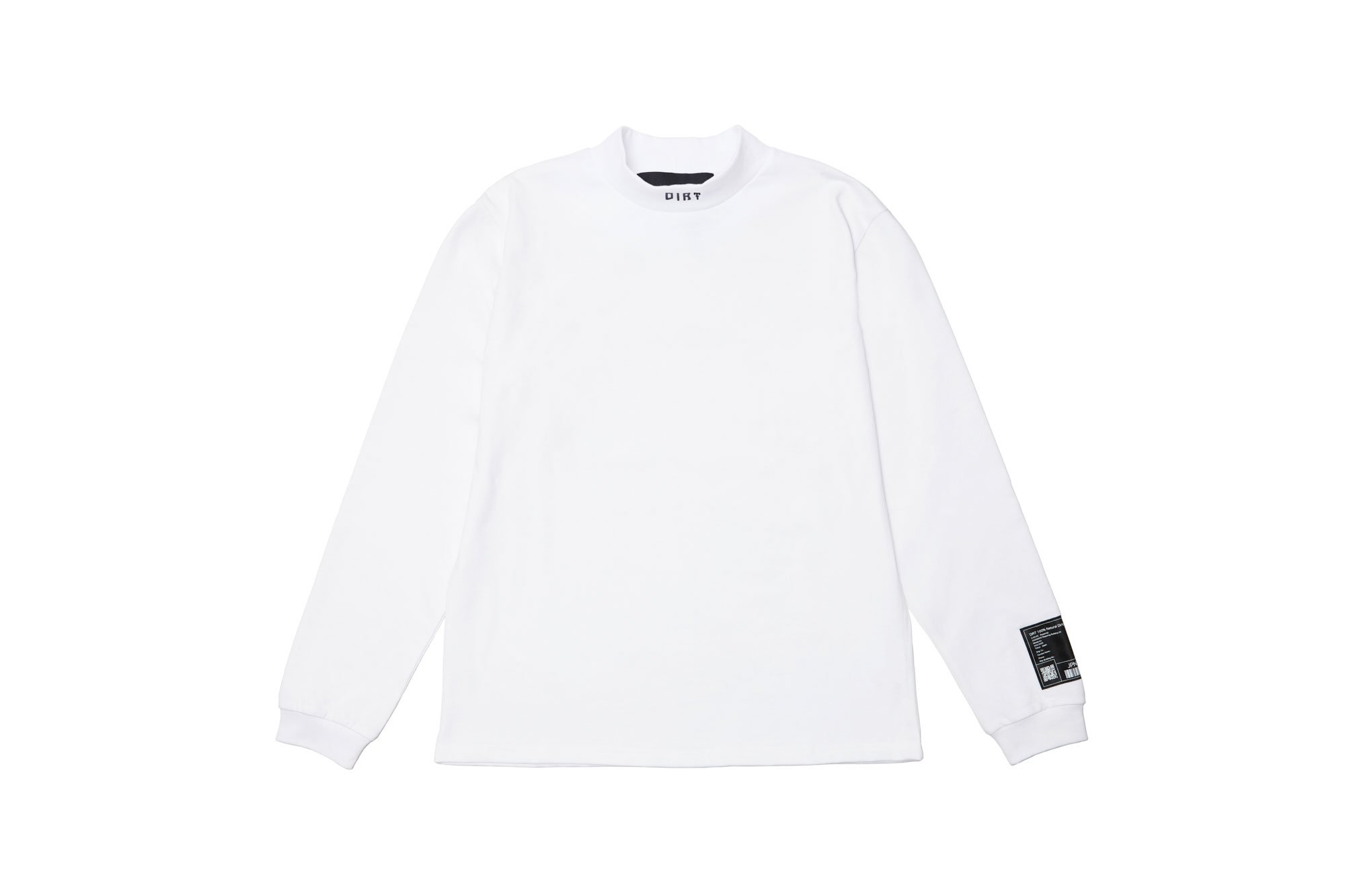 <img class='new_mark_img1' src='https://img.shop-pro.jp/img/new/icons14.gif' style='border:none;display:inline;margin:0px;padding:0px;width:auto;' />2020AW collection High Neck Long Sleeve Shirt WH