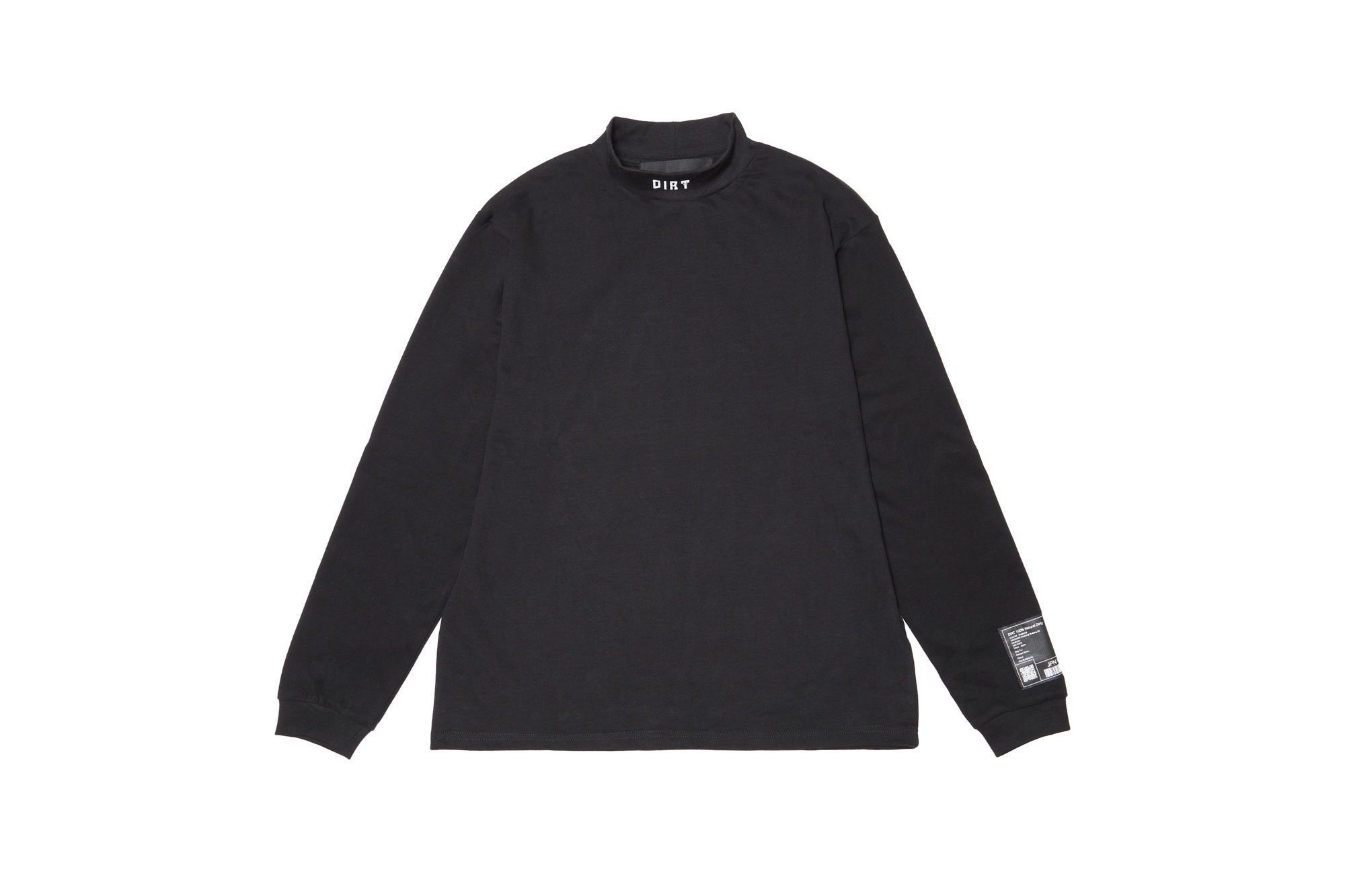 <img class='new_mark_img1' src='https://img.shop-pro.jp/img/new/icons14.gif' style='border:none;display:inline;margin:0px;padding:0px;width:auto;' />2020AW collection High Neck Long Sleeve Shirt BK