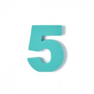 EVA数字 5