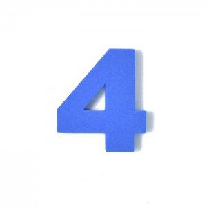 EVA数字 4