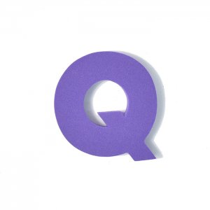 EVAアルファベット Q