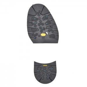 ヴィブラムソール #022AG Winter Fashion AG Black ハーフソール・ヒールセット