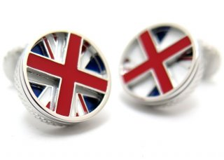 TATEOSSIAN(タテオシアン) ポップ ローテーティング国旗カフス(イギリス)(カフスボタン/カフリンクス) - ブランド