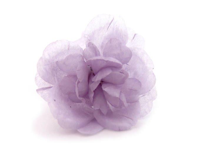 PROSSIMO(プロッシモ)草木染めフラワーラペルピン(むらさき草)(ピンズ)