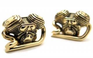MONART(モンアート) アニバーサリーバイクエンジンカフス(ゴールド)(カフスボタン/カフリンクス) - ブランド