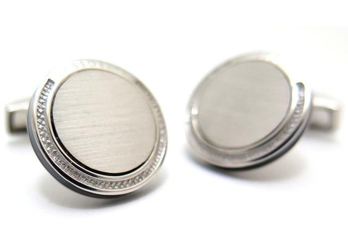 TATEOSSIAN(タテオシアン)  シグニチャシルバーカフス(ロジウム)(カフスボタン/カフリンクス) - ブランドの画像