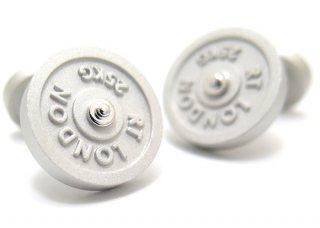TATEOSSIAN(タテオシアン) インダストリアル フリーウエイトカフス(マットロジウム)(カフスボタン/カフリンクス) - ブランド