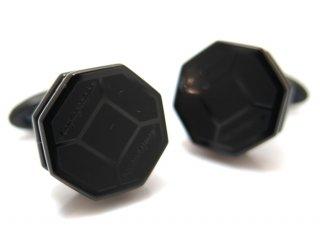 MONTEGRAPPA(モンテグラッパ) トリプディオカフス(IPブラック/IPローズゴールド)(カフスボタン/カフリンクス) - ブランド