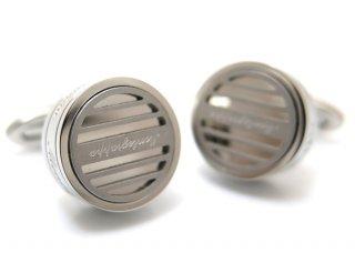 MONTEGRAPPA(モンテグラッパ) グリッドカフス(スティール)(カフスボタン/カフリンクス) - ブランド