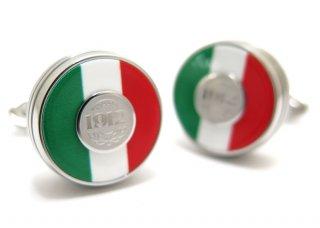 MONTEGRAPPA(モンテグラッパ) トリコロールカフス(イタリア国旗)(カフスボタン/カフリンクス) - ブランド