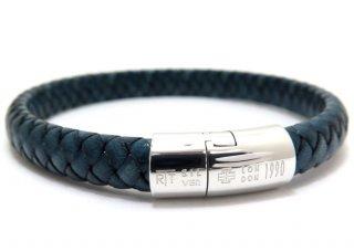 TATEOSSIAN(タテオシアン)シルバーコブラクラシックブレスレット(ブルー) - ブランド