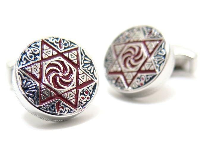 TATEOSSIAN(タテオシアン) アルメニア 六芒星カフス(カフスボタン/カフリンクス) - ブランドの画像