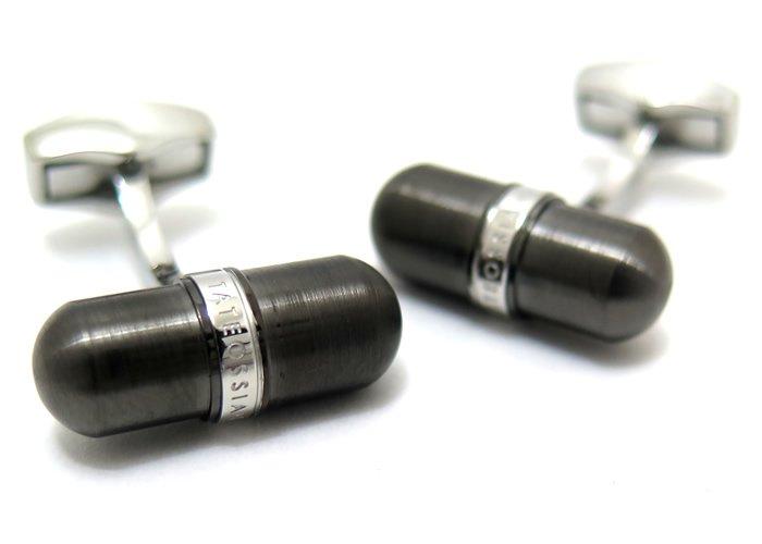 TATEOSSIAN(タテオシアン) メタリックピルカフス(IPガンメタル) (カフスボタン/カフリンクス) - ブランドの画像