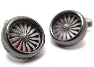 TATEOSSIAN(タテオシアン) ロータリーエンジンシルバーカフス(カフスボタン/カフリンクス) - ブランド