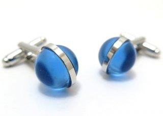 SIMON CARTER (サイモンカーター) グラスグローブカフス(ブルー)(カフスボタン/カフリンクス) - ブランド