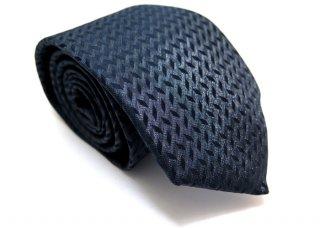TINO COSMA (ティノコズマ)キューブパターン シルクネクタイ(ネイビー)(ネクタイ/タイ) - ブランド