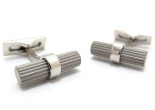 S.T.Dupont(エス・テー・デュポン) バトンバーティカルラインカフス (カフスボタン/カフリンクス) - ブランド