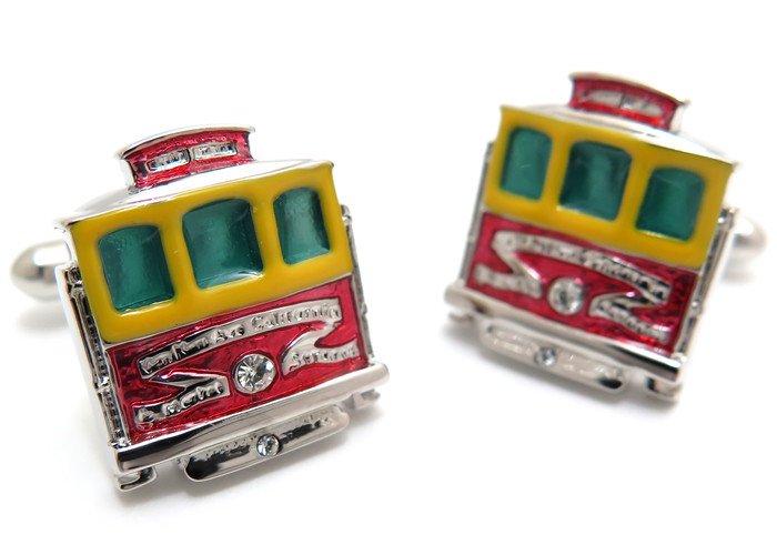SWANK(スワンク)路面電車カフス(カフスボタン/カフリンクス) - ブランドの画像