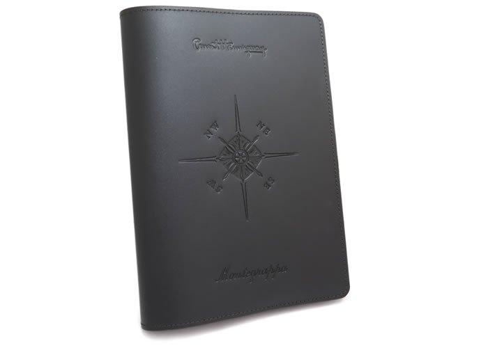 MONTEGRAPPA(モンテグラッパ)  アーネスト・ヘミングウェイ ノートブックカバー(A5)- ブランドの画像