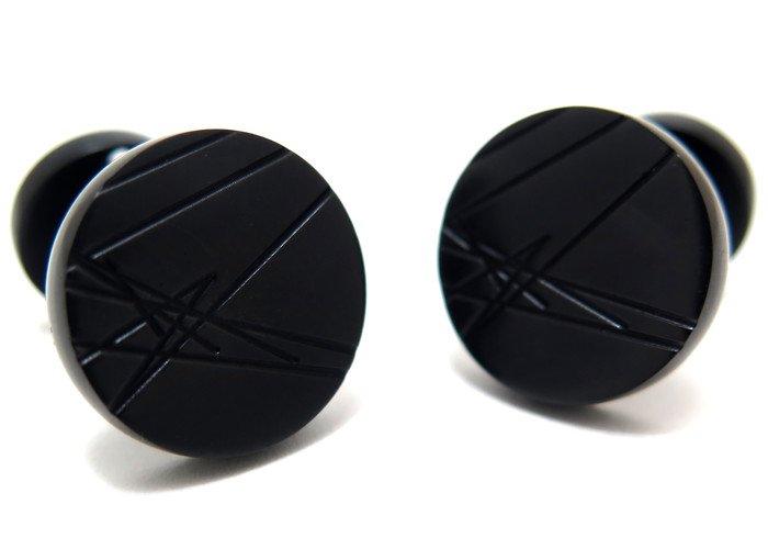TYLER & TYLER(タイラー&タイラー) カプセルアイコンズカフス(マードックブラック)(カフスボタン/カフリンクス) - ブランドの画像