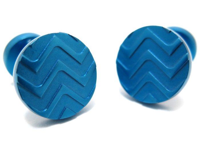 TYLER & TYLER(タイラー&タイラー) カプセルアイコンズカフス(チェンバレンブルー)(カフスボタン/カフリンクス) - ブランドの画像
