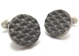 TATEOSSIAN(タテオシアン) チタニウムモノクロームカフス(トークンカレイドスコープ)(カフスボタン/カフリンクス) - ブランド