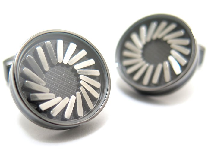 TATEOSSIAN(タテオシアン) クリスタル スワロフスキーラティスカフス(モンタナ)(カフスボタン/カフリンクス) - ブランドの画像