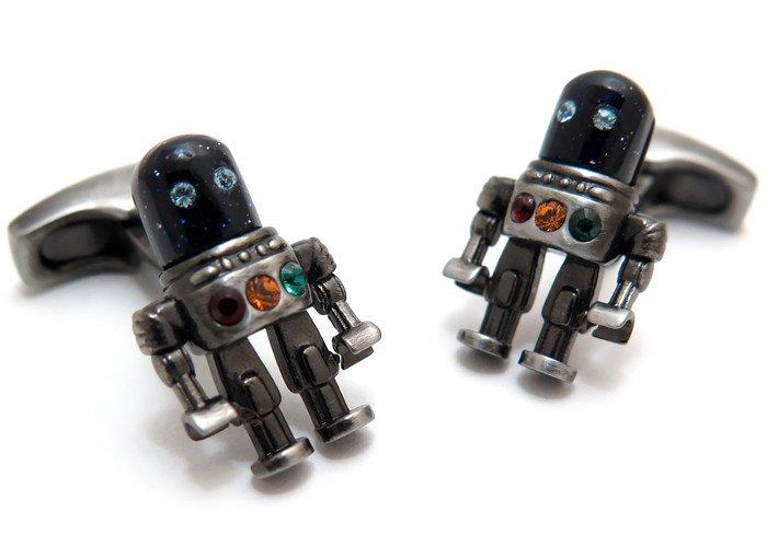 SIMON CARTER (サイモンカーター) スペースカフス(ロボット)(カフスボタン/カフリンクス) - ブランドの画像
