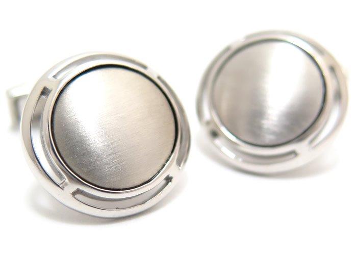 TATEOSSIAN(タテオシアン) ピュア アールデコシルバーカフス(ブラッシュロジウム)(カフスボタン/カフリンクス) - ブランドの画像