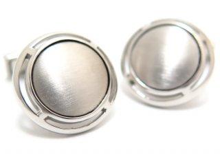 TATEOSSIAN(タテオシアン) ピュア アールデコシルバーカフス(ブラッシュロジウム)(カフスボタン/カフリンクス) - ブランド