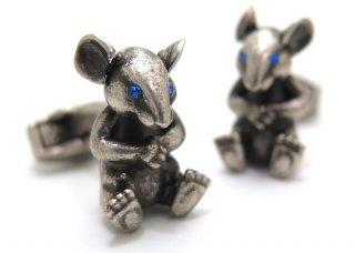 TATEOSSIAN(タテオシアン) メカニカルアニマルズ ネズミカフス(カフスボタン/カフリンクス) - ブランド
