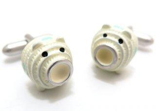 SWANK(スワンク)豚蚊取りカフス(カフスボタン/カフリンクス) - ブランド