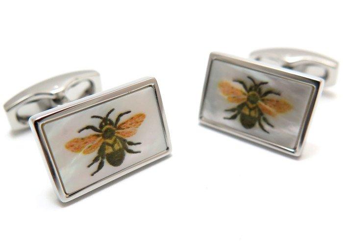 SIMON CARTER (サイモンカーター) ボタニカルカフス(蜂)(カフスボタン/カフリンクス) - ブランドの画像