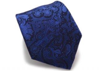 SIMON CARTER(サイモンカーター) バロック フローラル シルク ネクタイ(ブルー)(ネクタイ/タイ) - ブランド