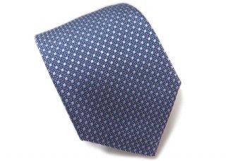 TINO COSMA (ティノコズマ)サークル パターン シルク ネクタイ(ブルー)(ネクタイ/タイ) - ブランド